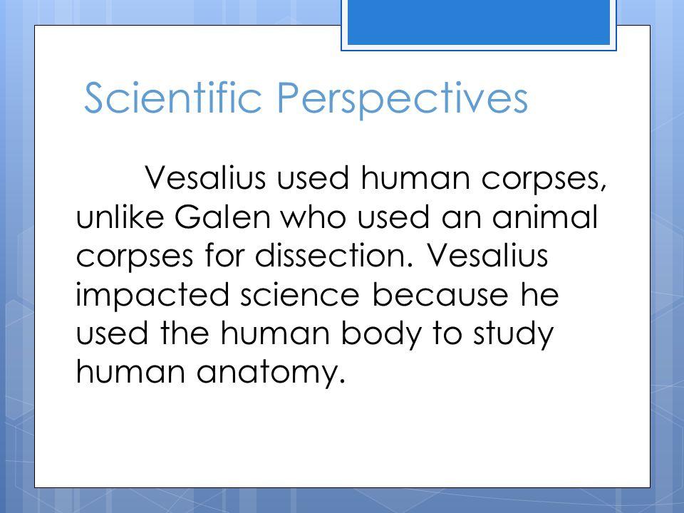 Scientific Perspectives