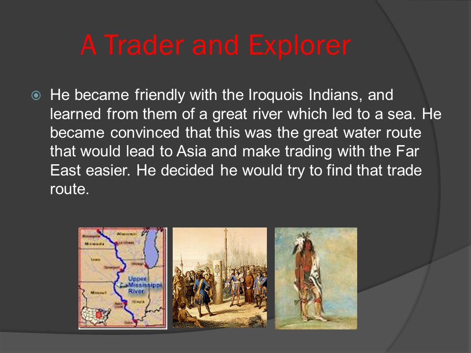 A Trader and Explorer