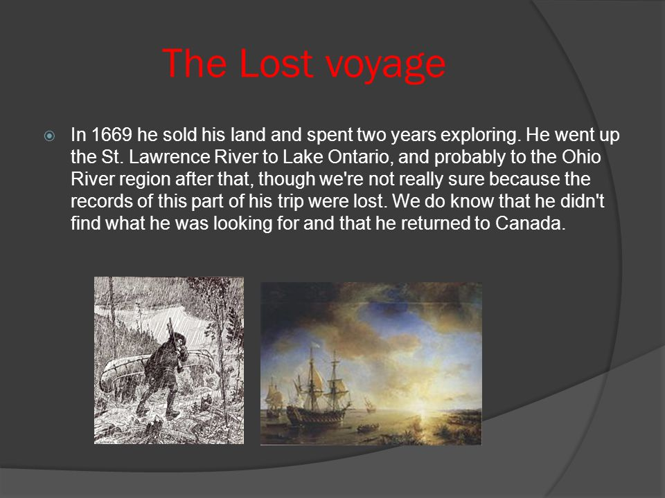 The Lost voyage