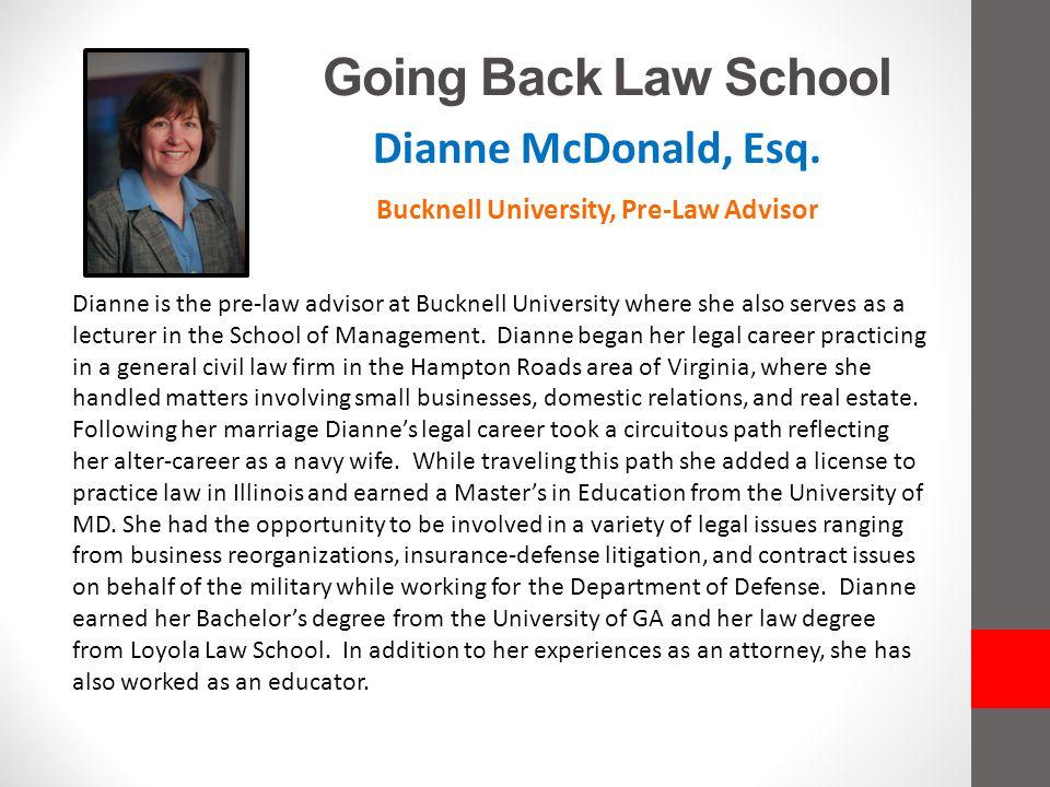 Bucknell University, Pre-Law Advisor