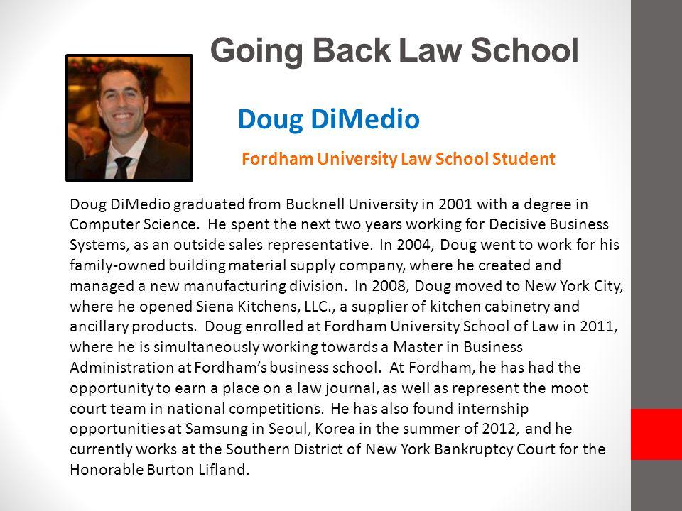 Fordham University Law School Student