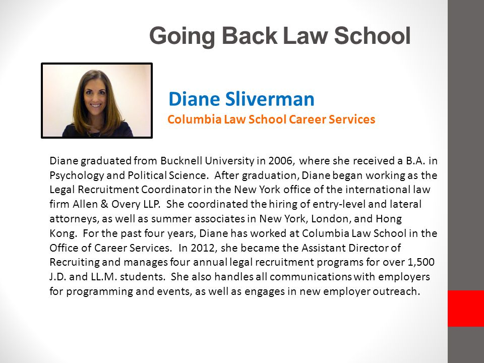 Going Back Law School Columbia Law School Career Services