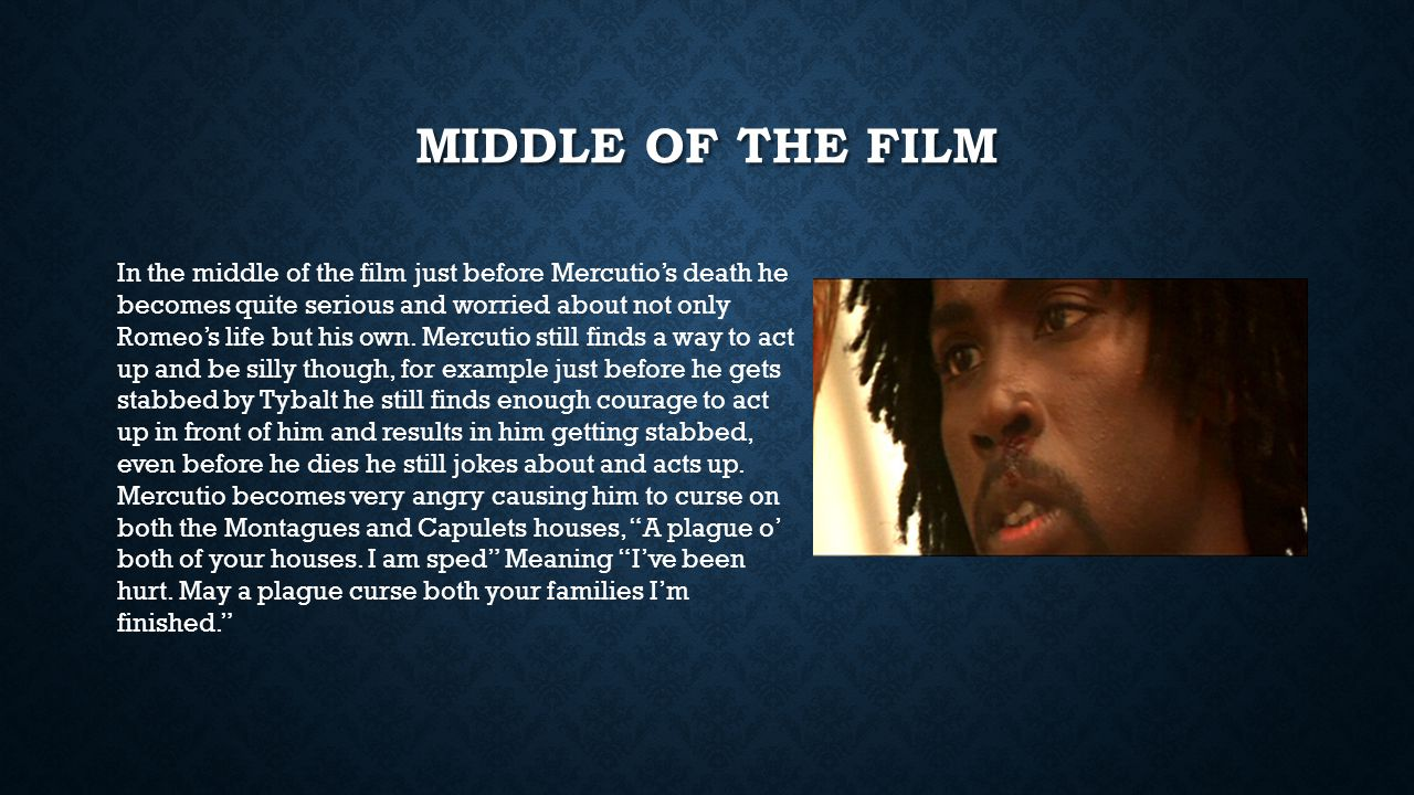 Middle of the film