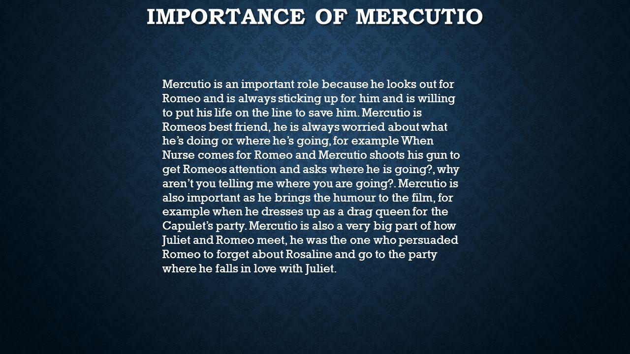Importance of Mercutio