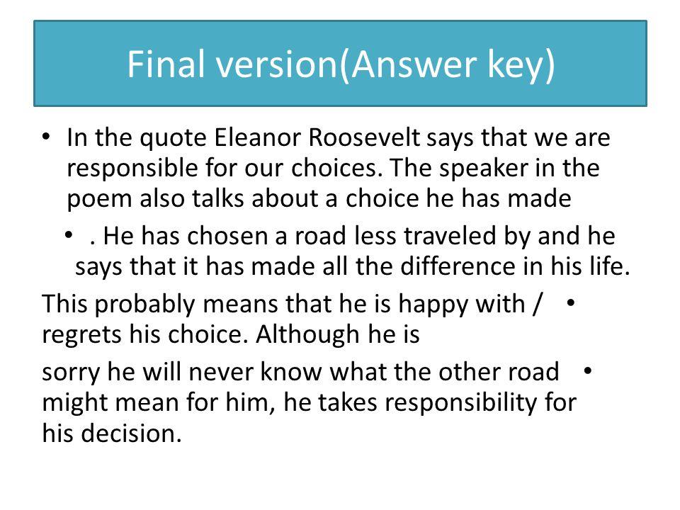 Final version(Answer key)