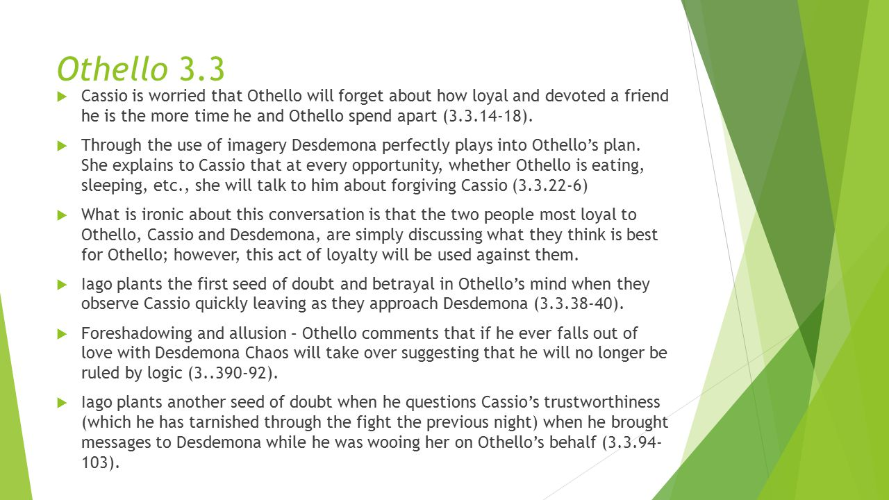 Othello 3.3