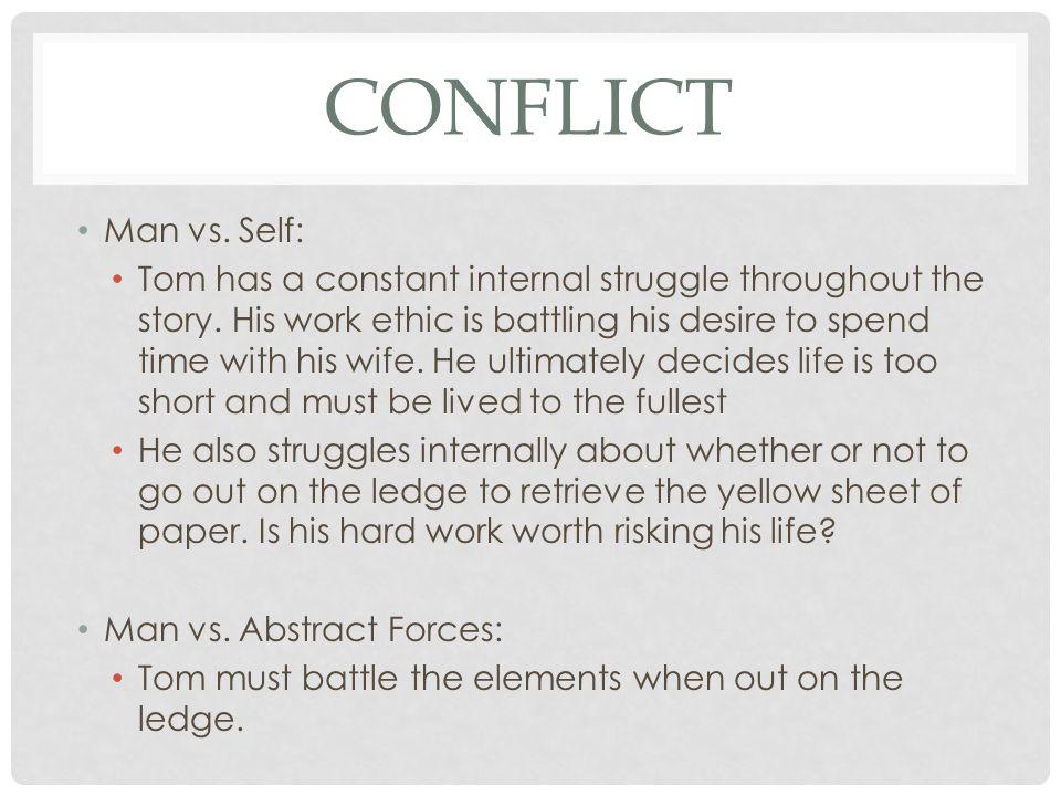 Conflict Man vs. Self: