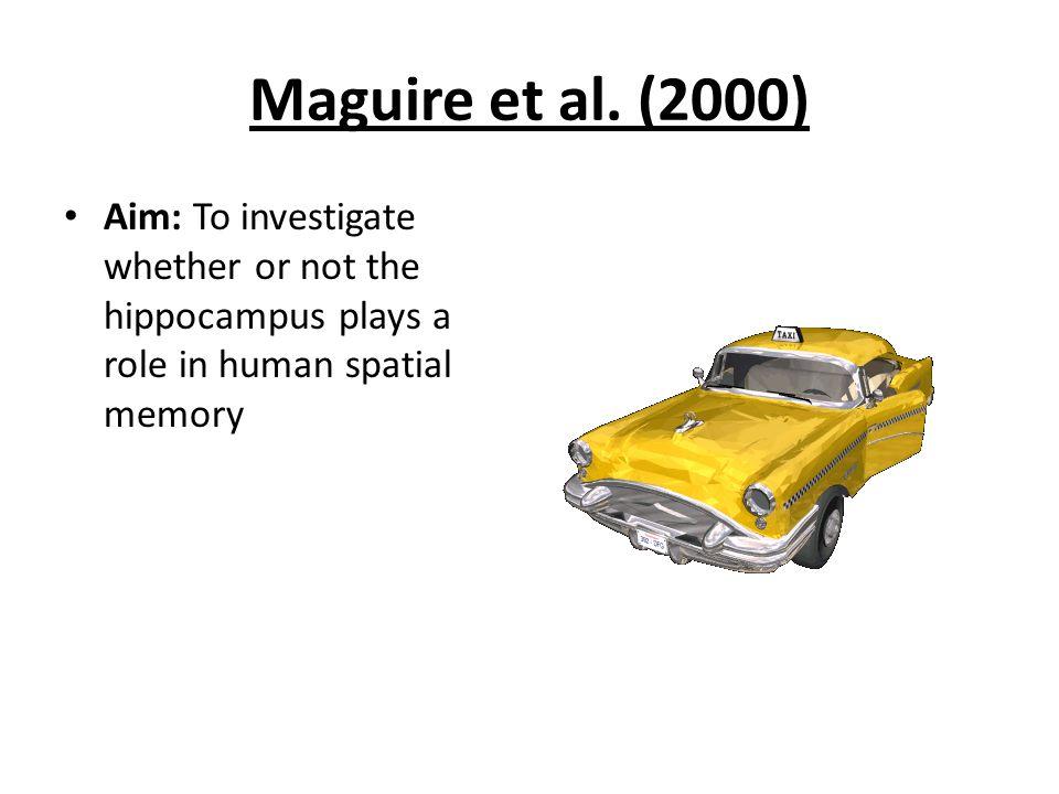 Maguire et al.