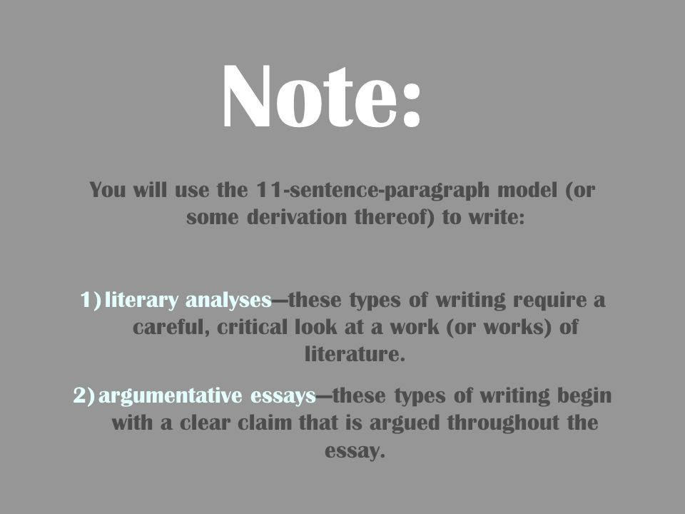 2 column notes for writing a paragraph