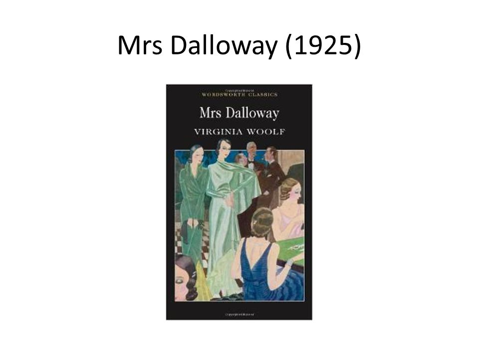 Mrs Dalloway (1925)