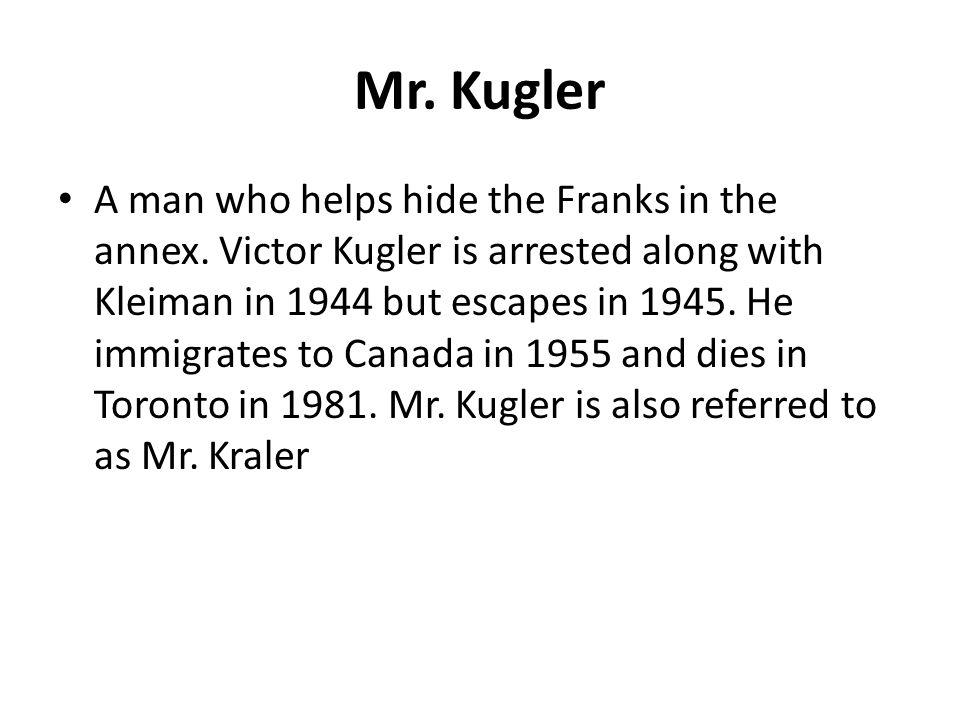 Mr. Kugler