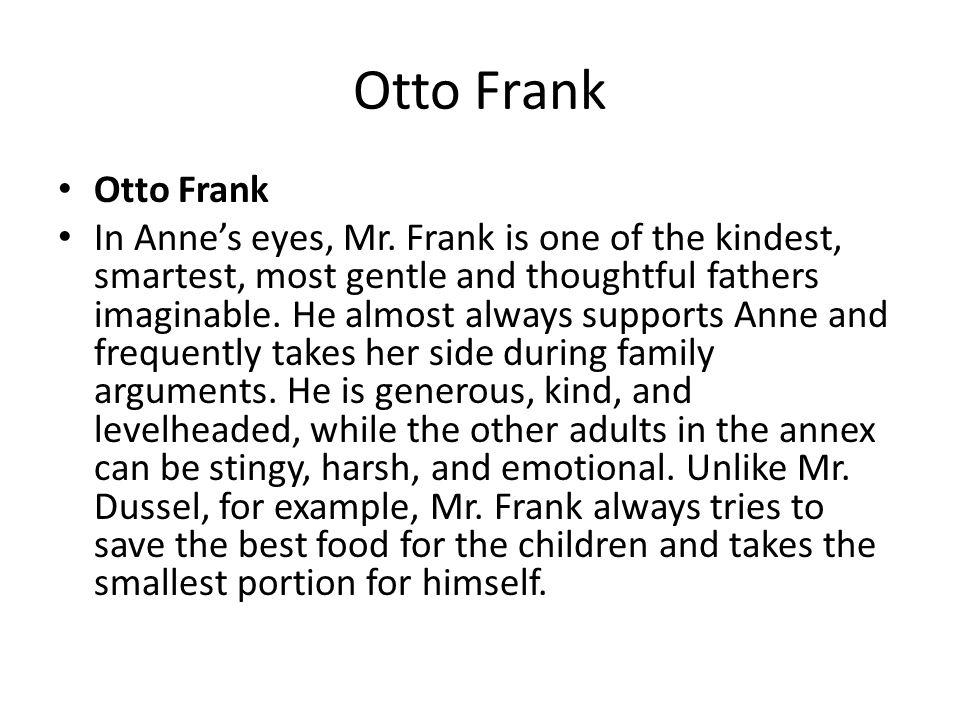 Otto Frank Otto Frank.