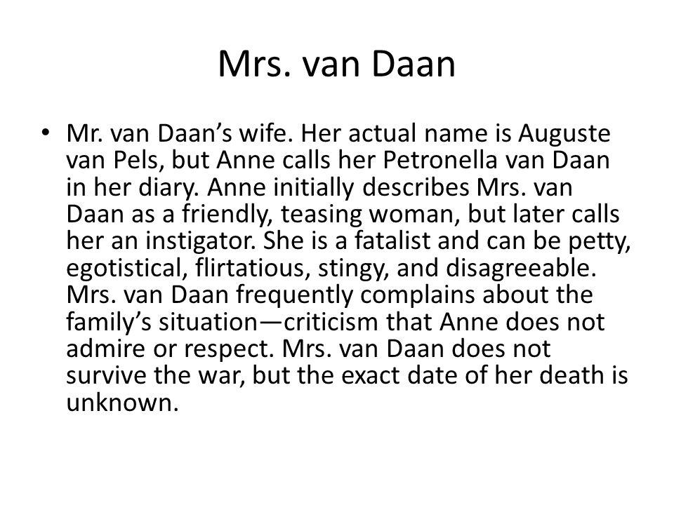 Mrs. van Daan