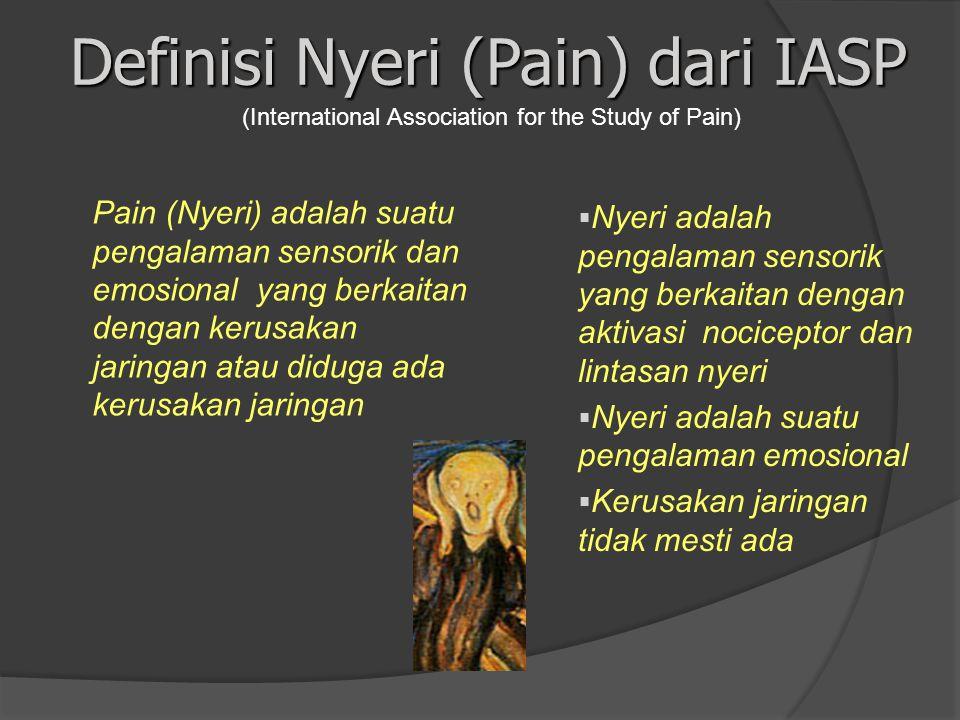 Definisi Nyeri (Pain) dari IASP