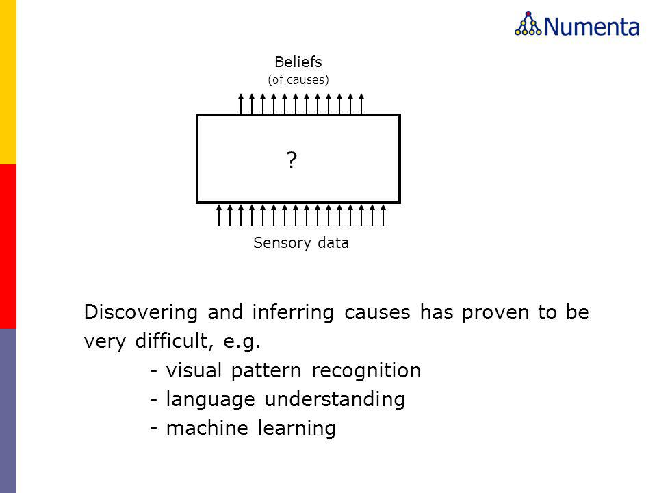 Discovering and inferring causes has proven to be