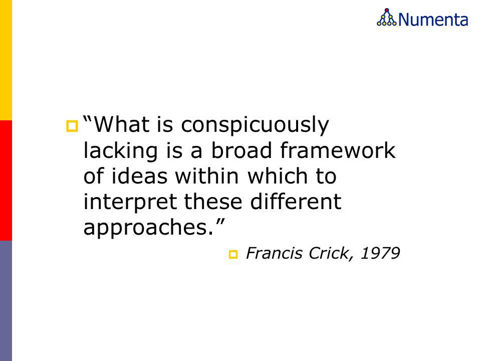 What is conspicuously lacking is a broad framework of ideas within which to interpret these different approaches.