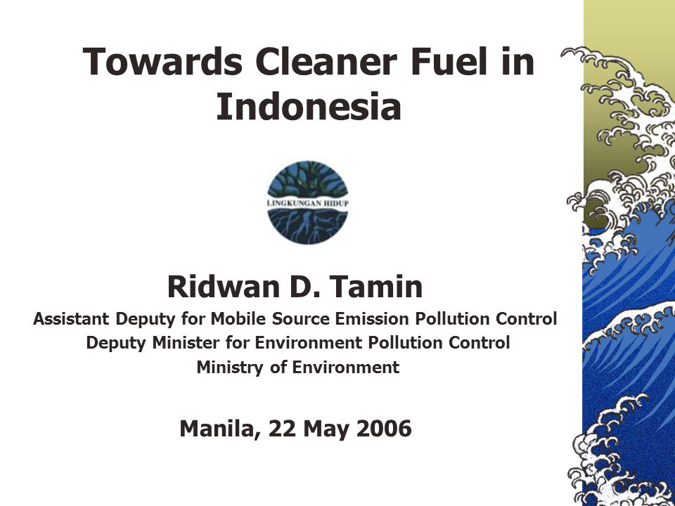 Towards Cleaner Fuel in Indonesia