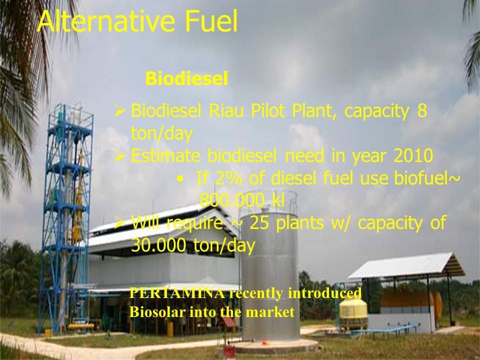 Alternative Fuel Biofuel Biodiesel