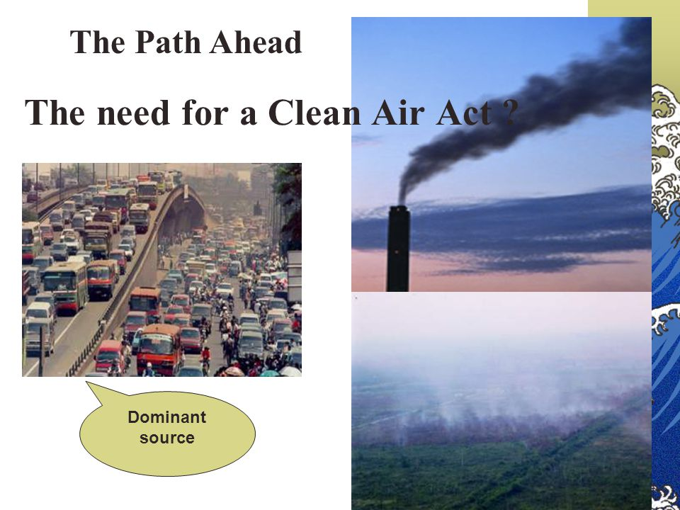 The need for a Clean Air Act