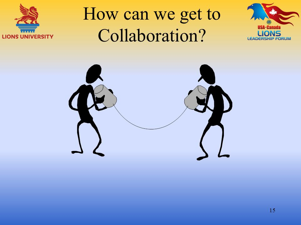 How can we get to Collaboration