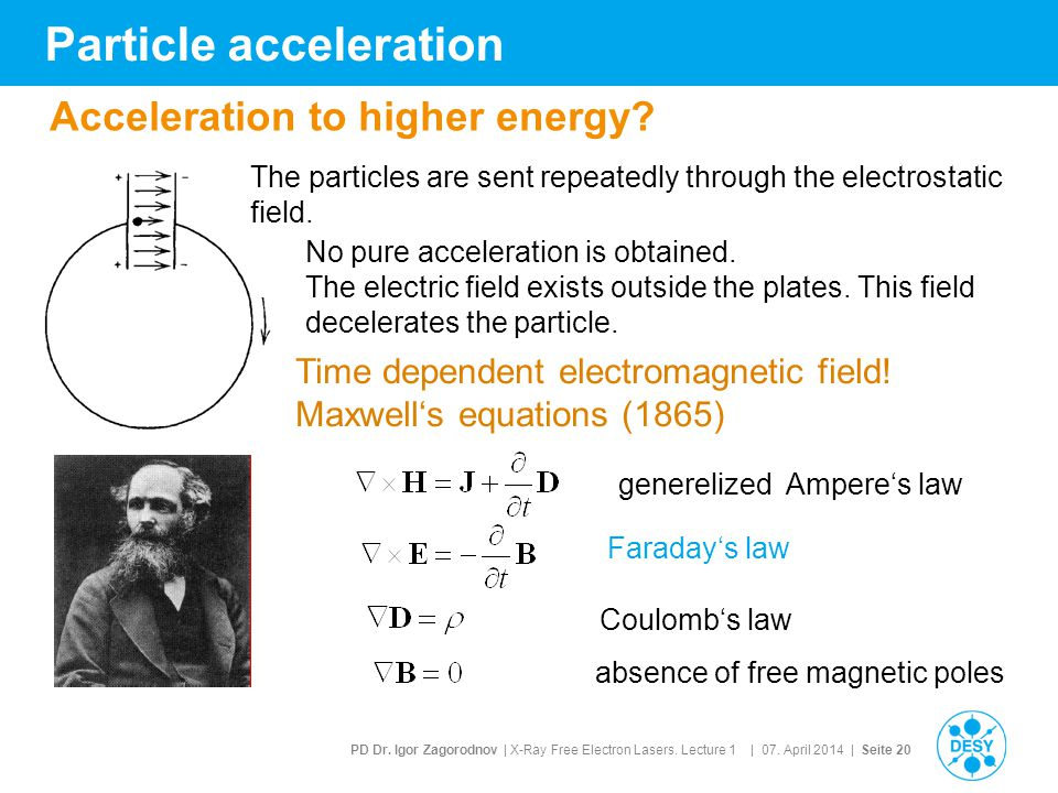 Particle acceleration