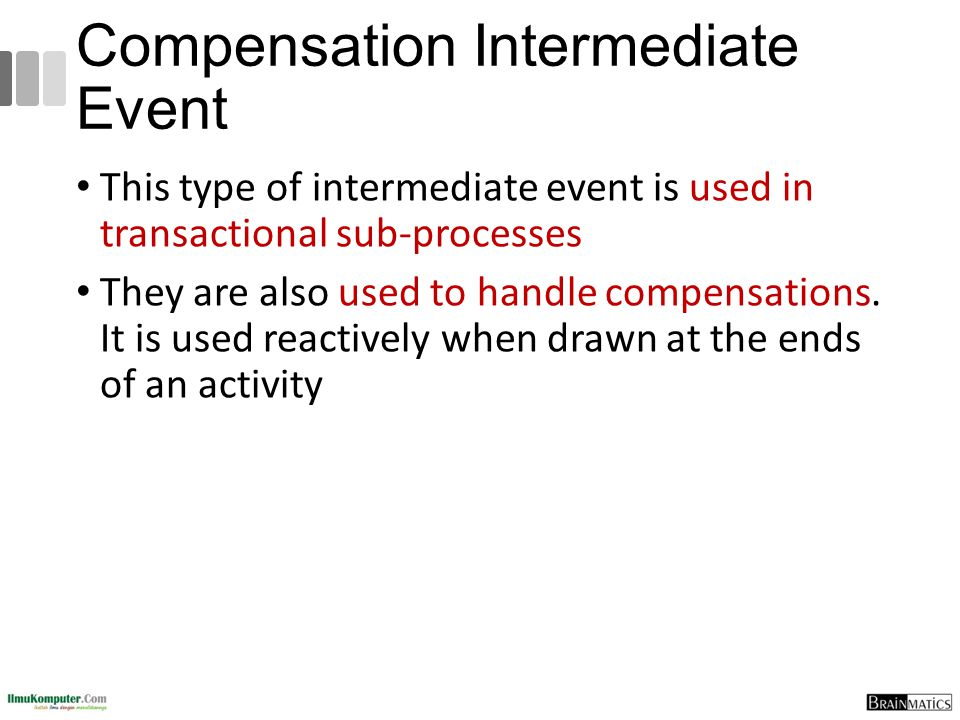 Compensation Intermediate Event