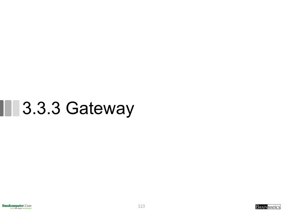 3.3.3 Gateway