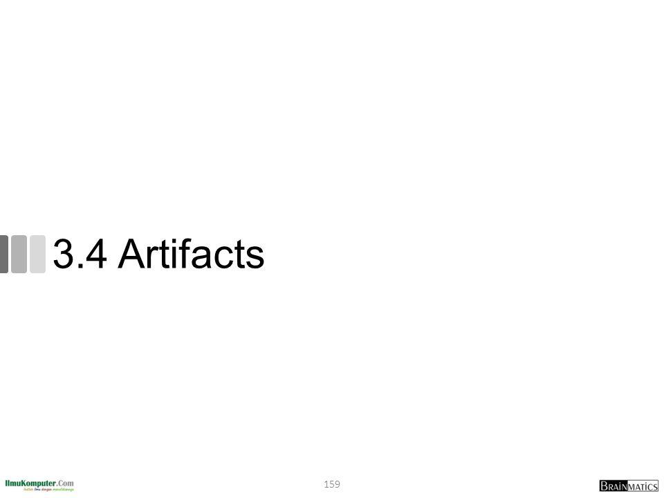 3.4 Artifacts