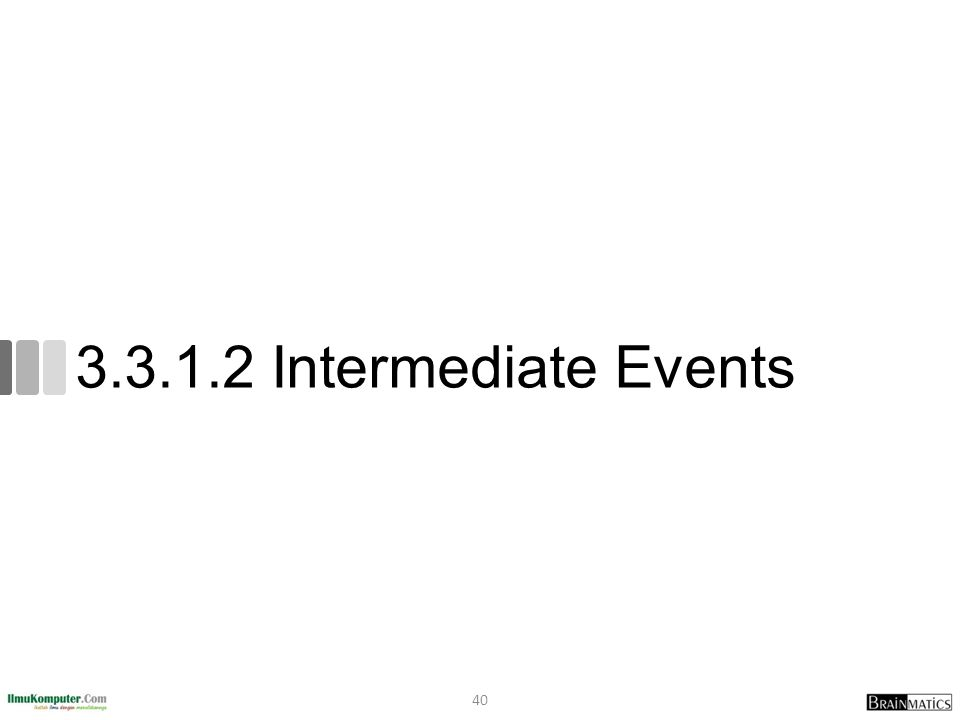 3.3.1.2 Intermediate Events