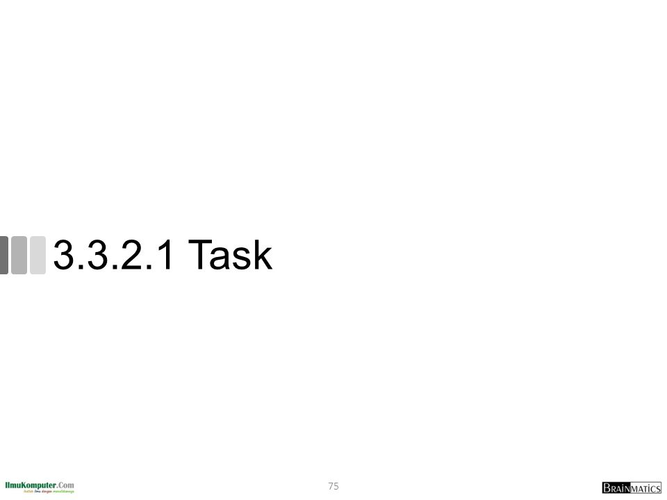 3.3.2.1 Task