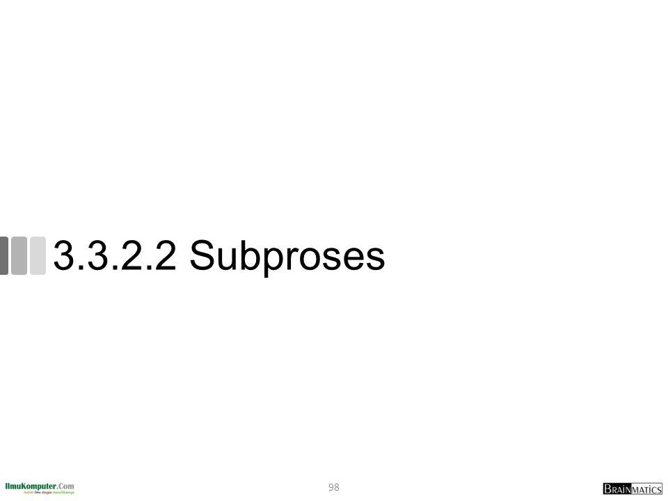 3.3.2.2 Subproses