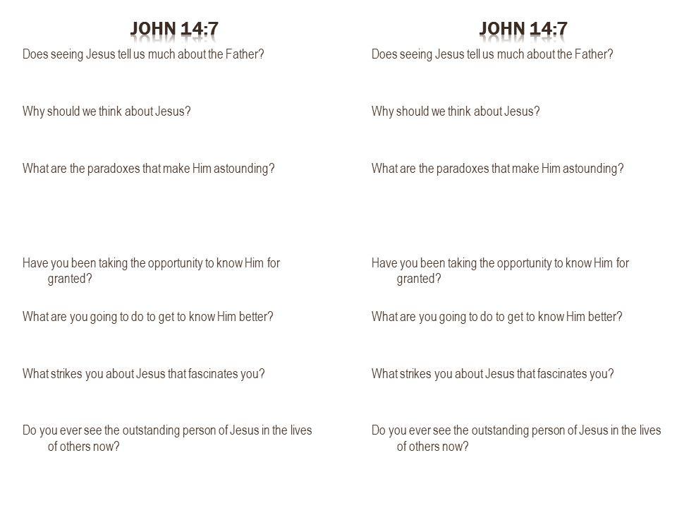 John 14:7 John 14:7.