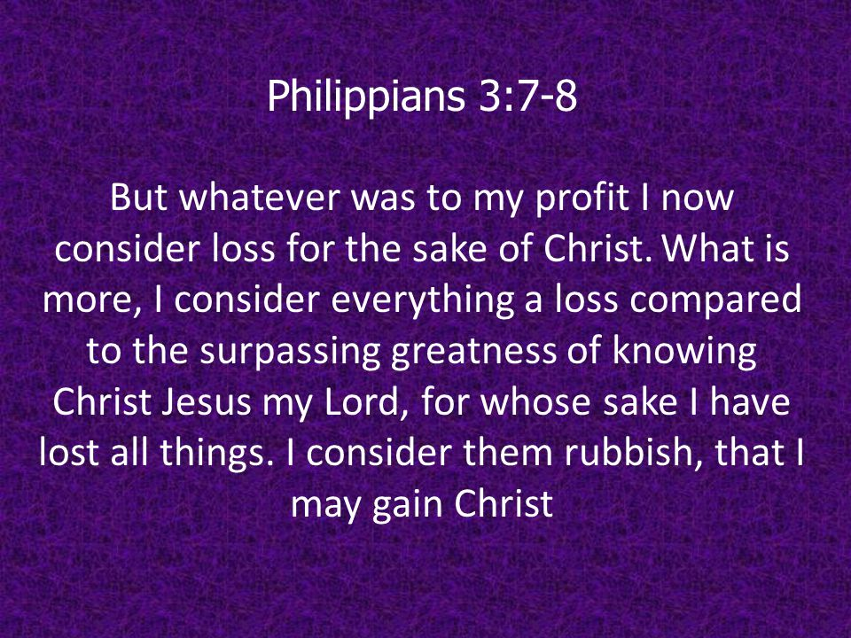Philippians 3:7-8