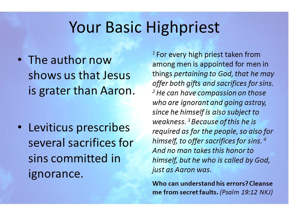 Your Basic Highpriest