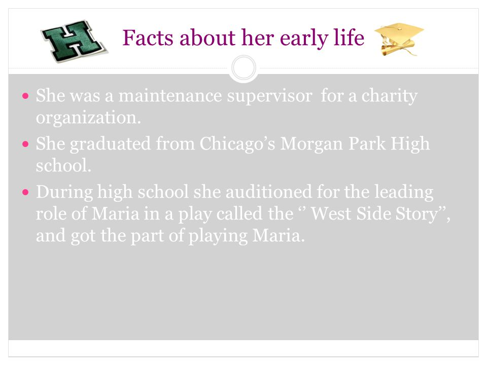 Facts about her early life