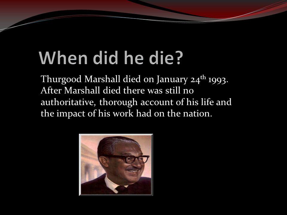 When did he die