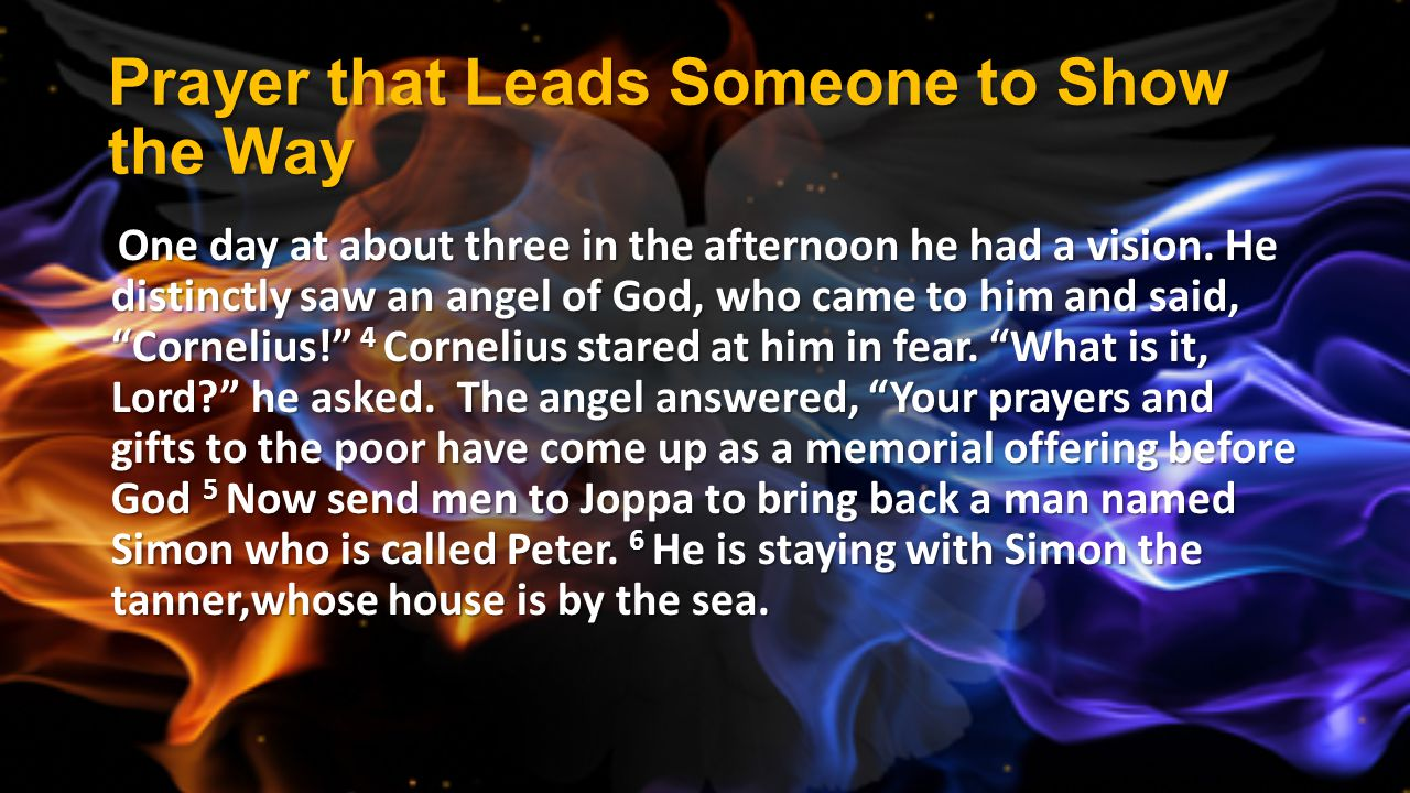 Prayer that Leads Someone to Show the Way