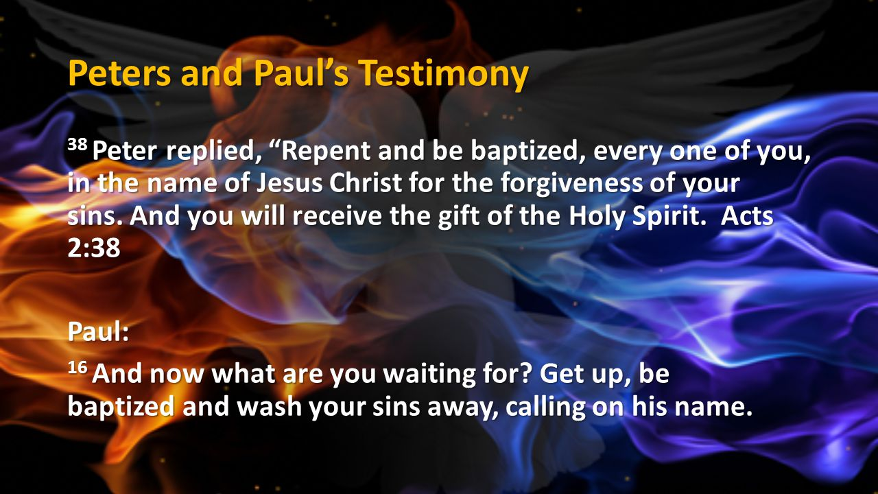 Peters and Paul's Testimony