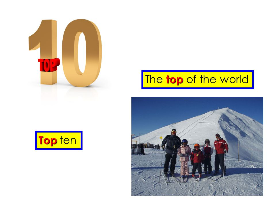 The top of the world Top ten