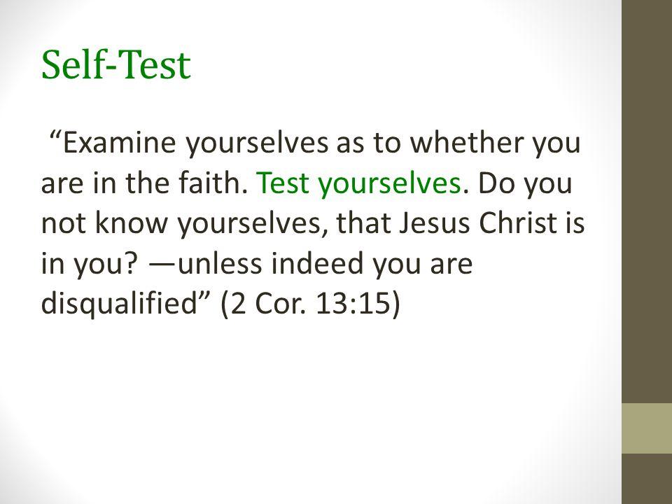 Self-Test