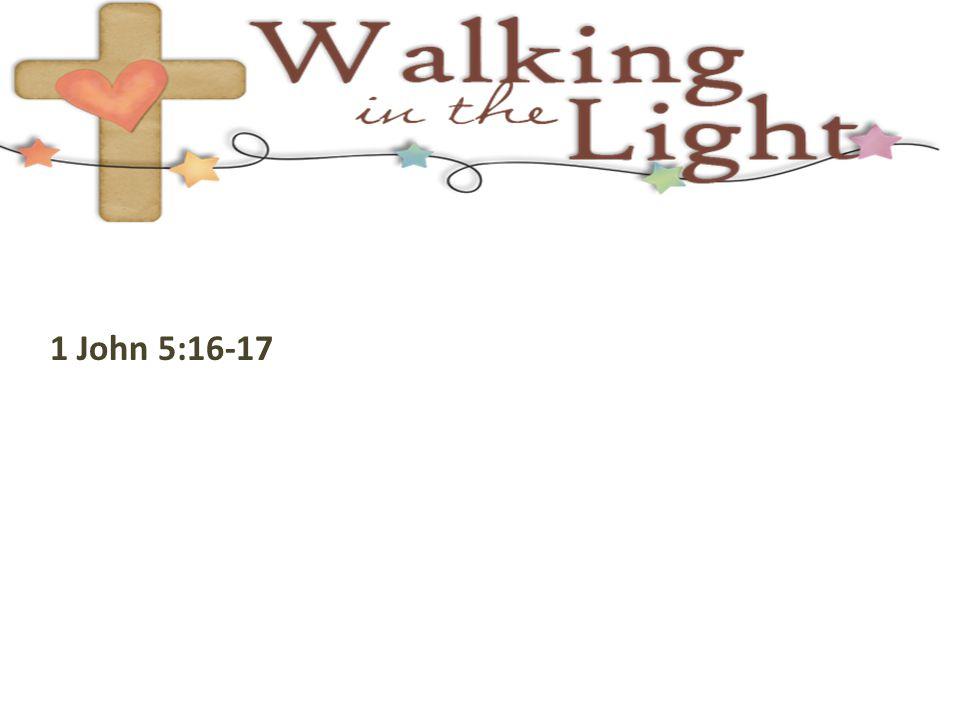 1 John 5:16-17