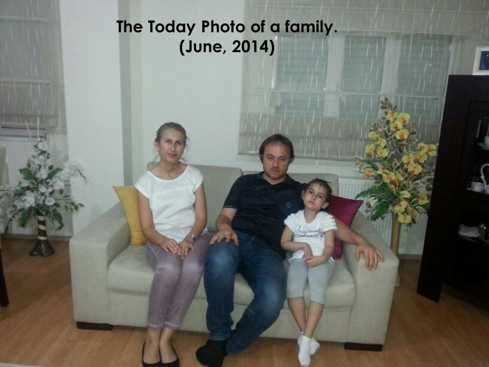 The Today Photo of a family. (June, 2014)