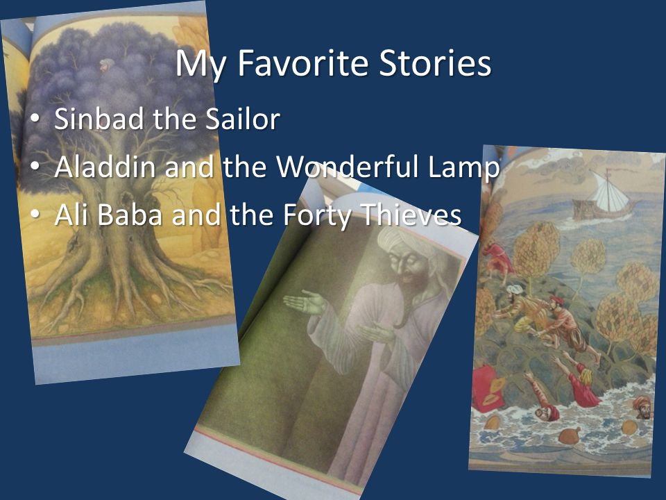 My Favorite Stories Sinbad the Sailor Aladdin and the Wonderful Lamp
