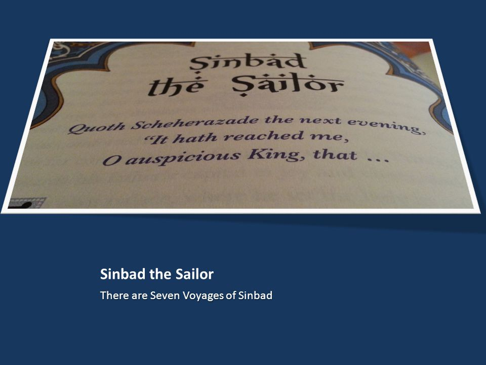 Sinbad the Sailor There are Seven Voyages of Sinbad