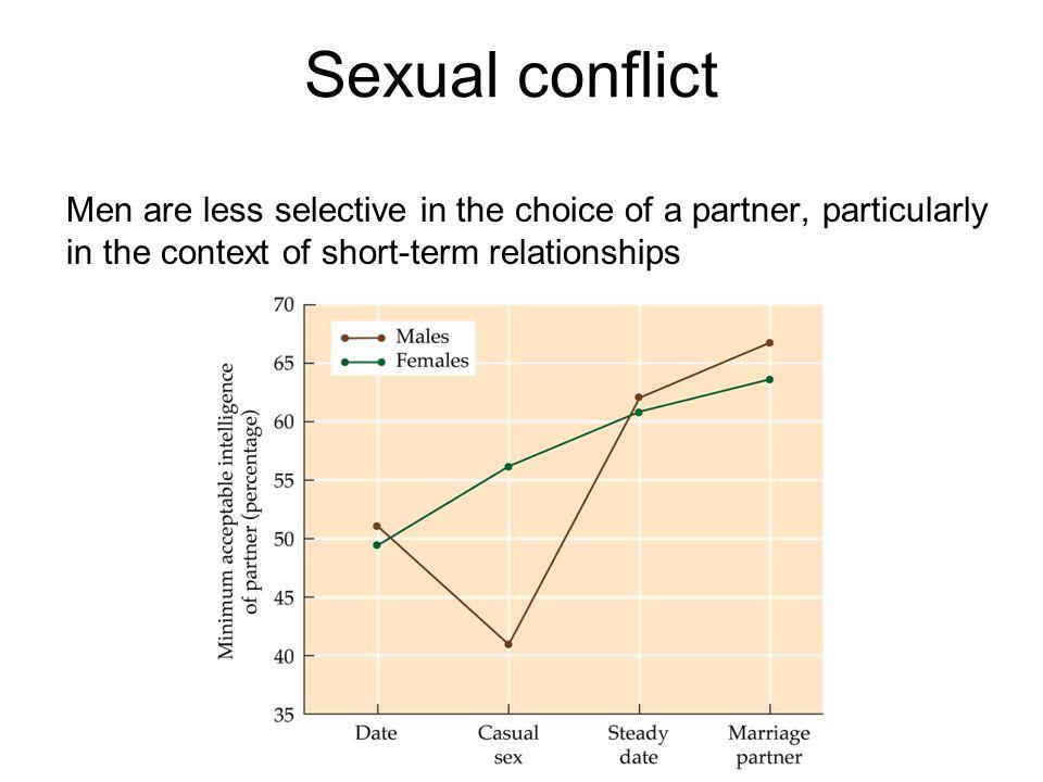 Sexual conflict David Buss en team van 50 wetenschappers bestudeerden