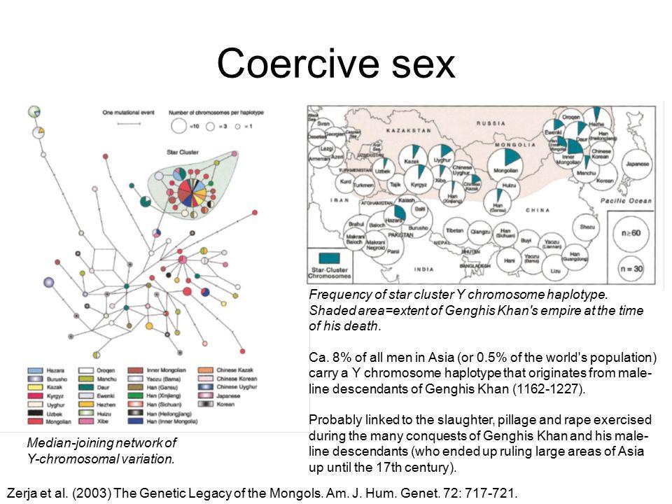 Coercive sex