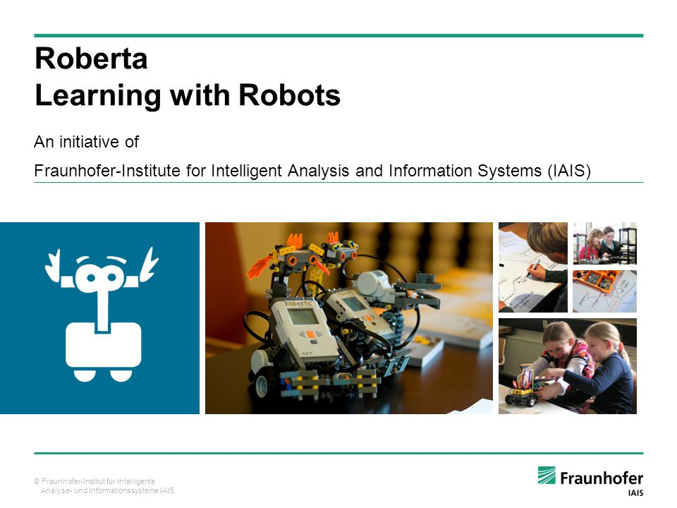 Roberta Learning with Robots