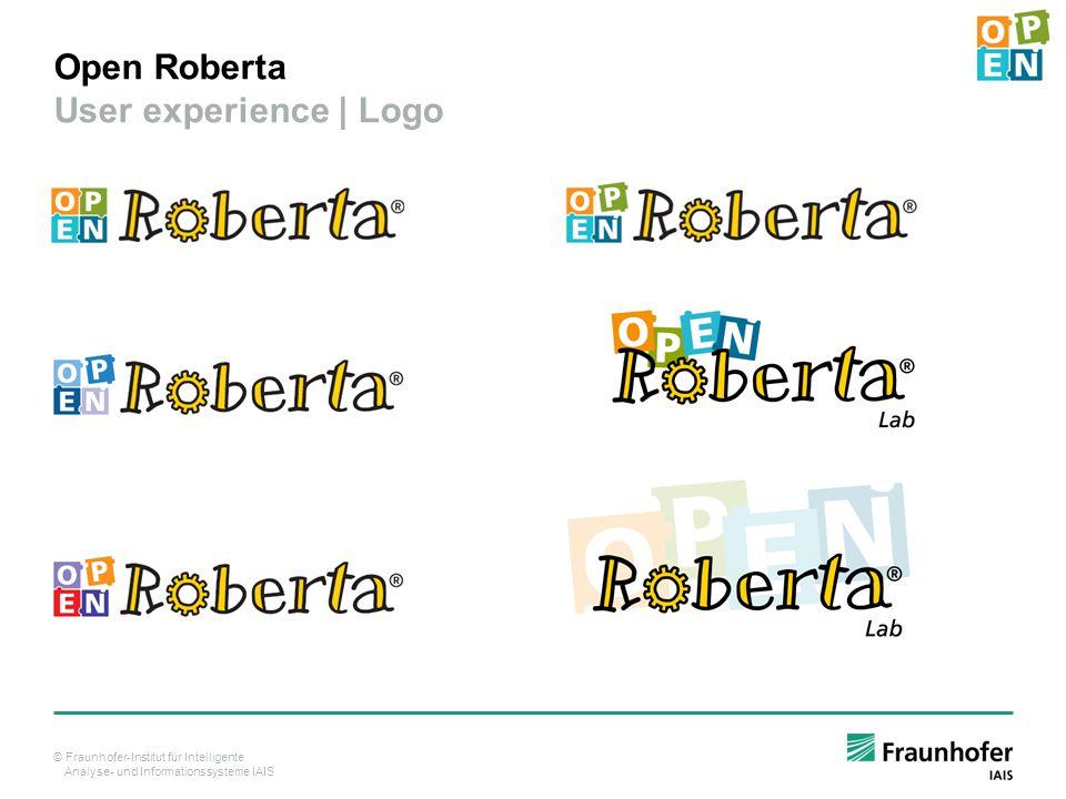 Open Roberta User experience | Logo