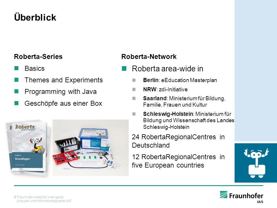 Überblick Roberta area-wide in Roberta-Series Basics