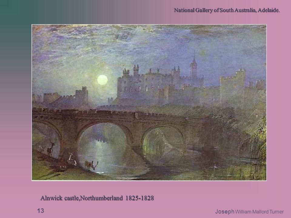Alnwick castle,Northumberland 1825-1828